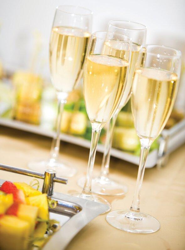 champagne, julemad, opskrift, fremgangsmåde, tilberedning, mad, vin