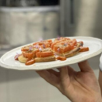 Laurent Chaberts tomattærte, opskrift, fremgangsmåde, tilberedning, mad, vin