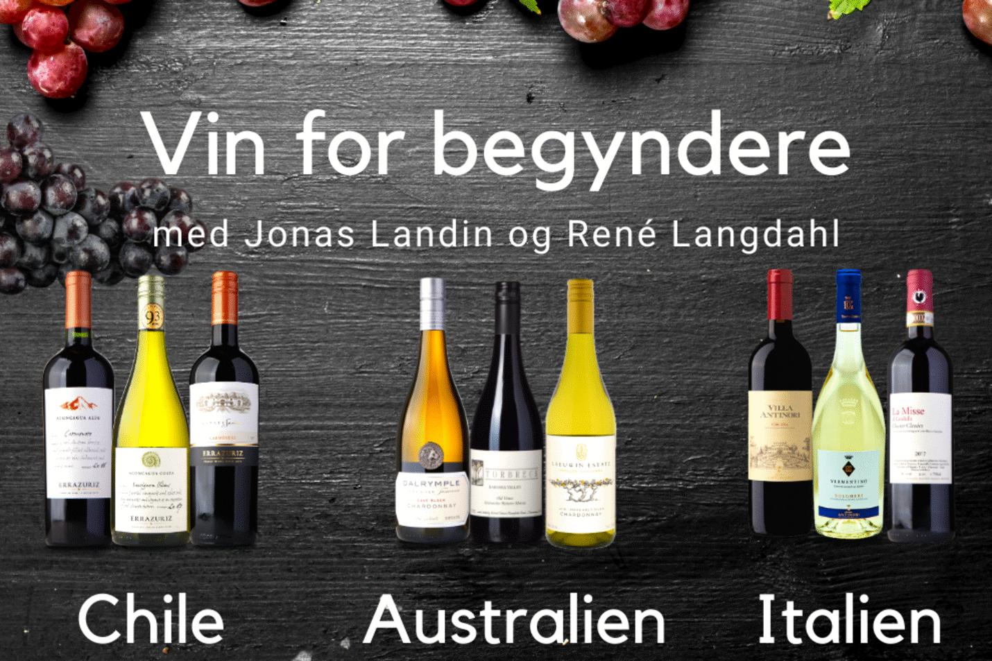 Vin for Begyndere, podcast, Jonas Landin, René Langdahl