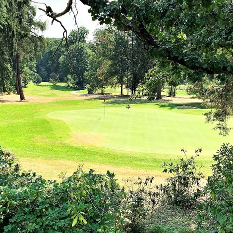 Rheinblick Golf Course i Wiesbade, Tyskland, tysk-amerikansk, golf, oplevelse, Riesling
