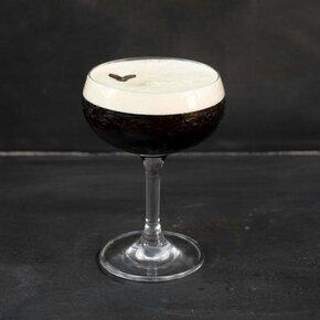 drink, cocktail, riedel, vodka, khalua, espresso, espresso martini, martini,, opskrift, drinksopskrift
