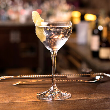 drink, cocktail, riedel, vodka, vermouth, vodka martini, martini, opskrift, drinksopskrift
