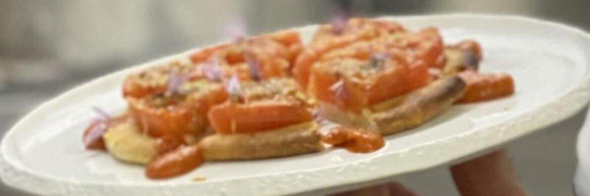Tomattærte, opskrift, fremgangsmåde, tilberedning, mad, vin